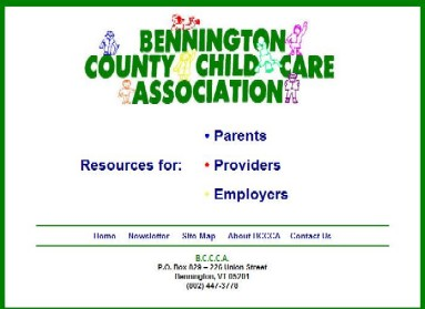 Bennington County Child Care Association