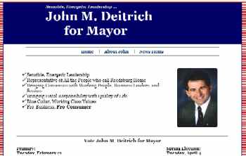 John M. Deitrich for Reedsburg Mayor