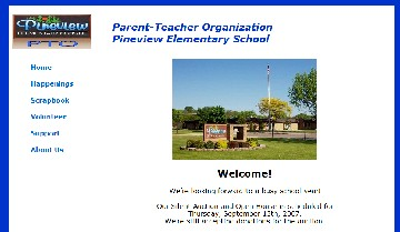 Parent-Teacher Organization, Pineview Elementary School